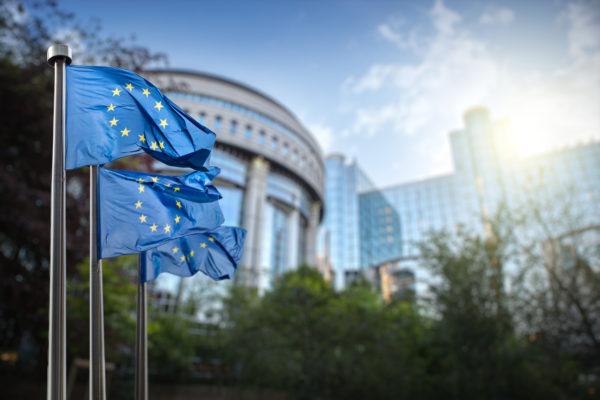 Drapeau de l'industrie européenne